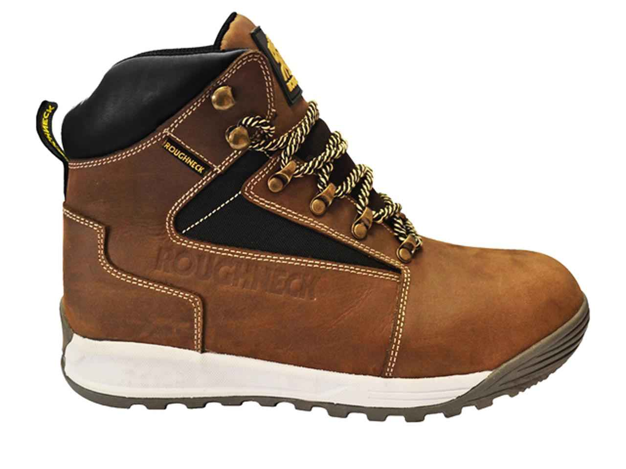 0dbb496acd6 Roughneck Sabre Brown Work Boots Various Sizes