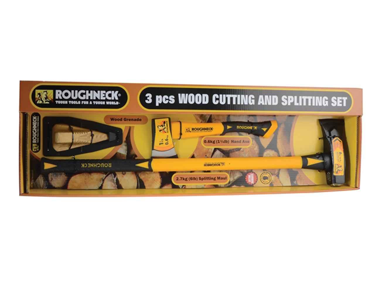 Roughneck ROU65503 Wood Chopping Kit 3pc
