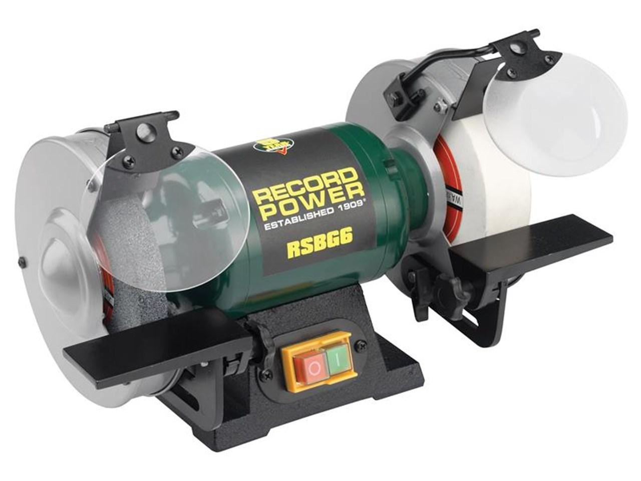 Record Power Rsbg8 240v Bench Grinder 8in