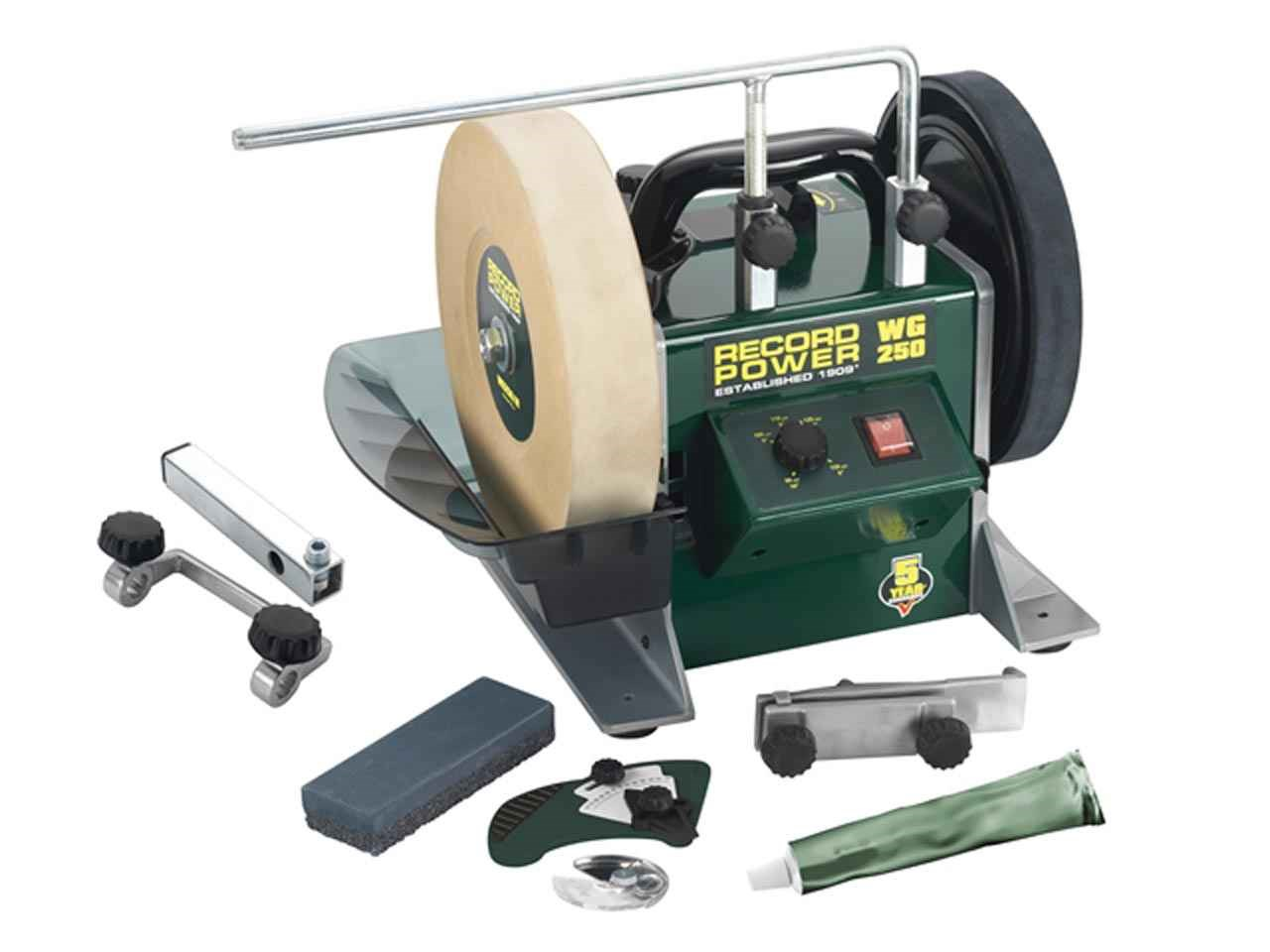 Record Power Wg250 Wet Stone Grinder