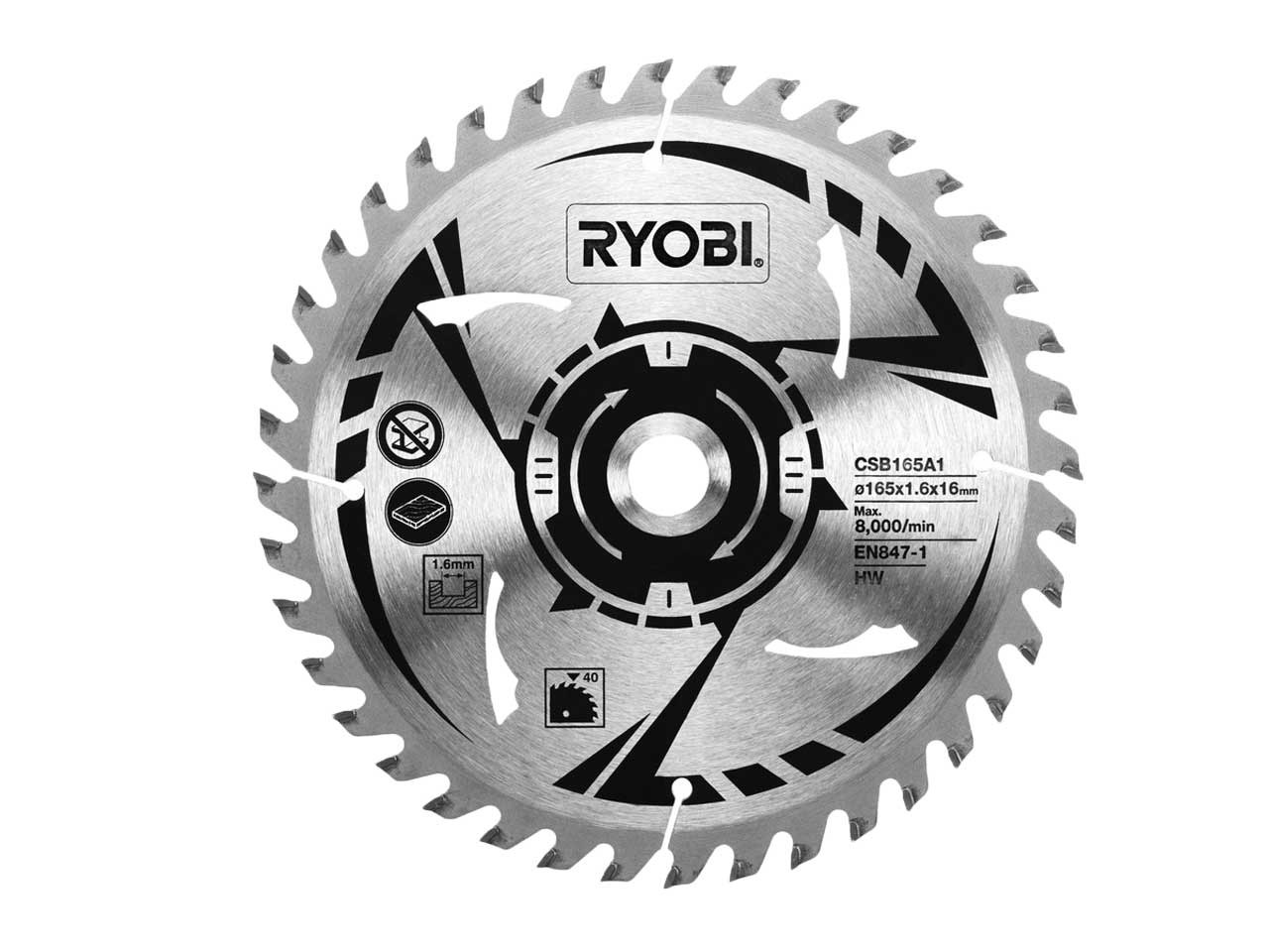 Ryobi csb165a1 165mm circular saw blade keyboard keysfo Image collections