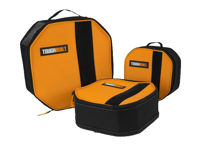 THE TOUGHBUILT® SOFTBOX™ TOWER 3-PACK SIMPLIFIES STORAGE FOR SMALL SUPPLIES