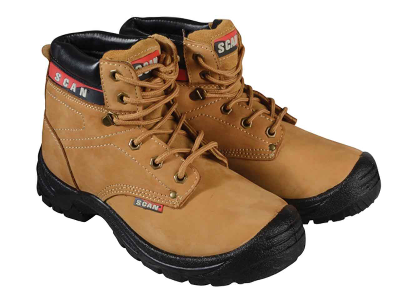 c94ca483a08 Scan Cougar Nubuck Safety Boot S1P Various Sizes