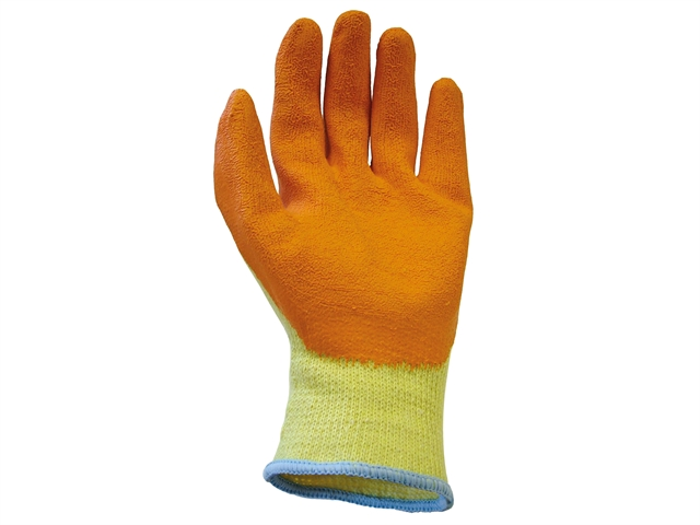 Personal Protective Equipment (ppe) Scan Thermal Latex Coated Gloves Size 8 Medium pack Of 5 Business & Industrial