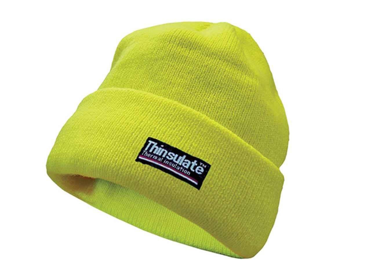 Scan WWHVBEAN High-Vis Beanie Hat Thinsulate Lined 5d31ae9304cd