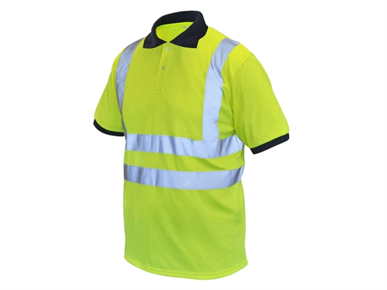 ede536e16 Scan SCAWWHVPSL Hi-Vis Yellow Polo Shirt - Large