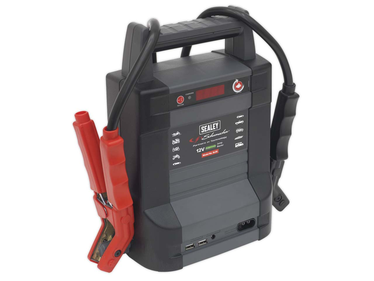 Sealey SL65S Jump Starter Power Pack Lithium 400A Multi-Colour LiCoO2