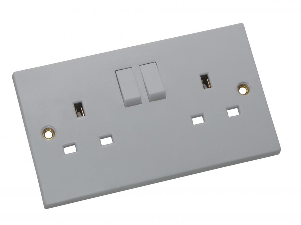 SMJ PPSK2GSW 13A Double Switched Socket