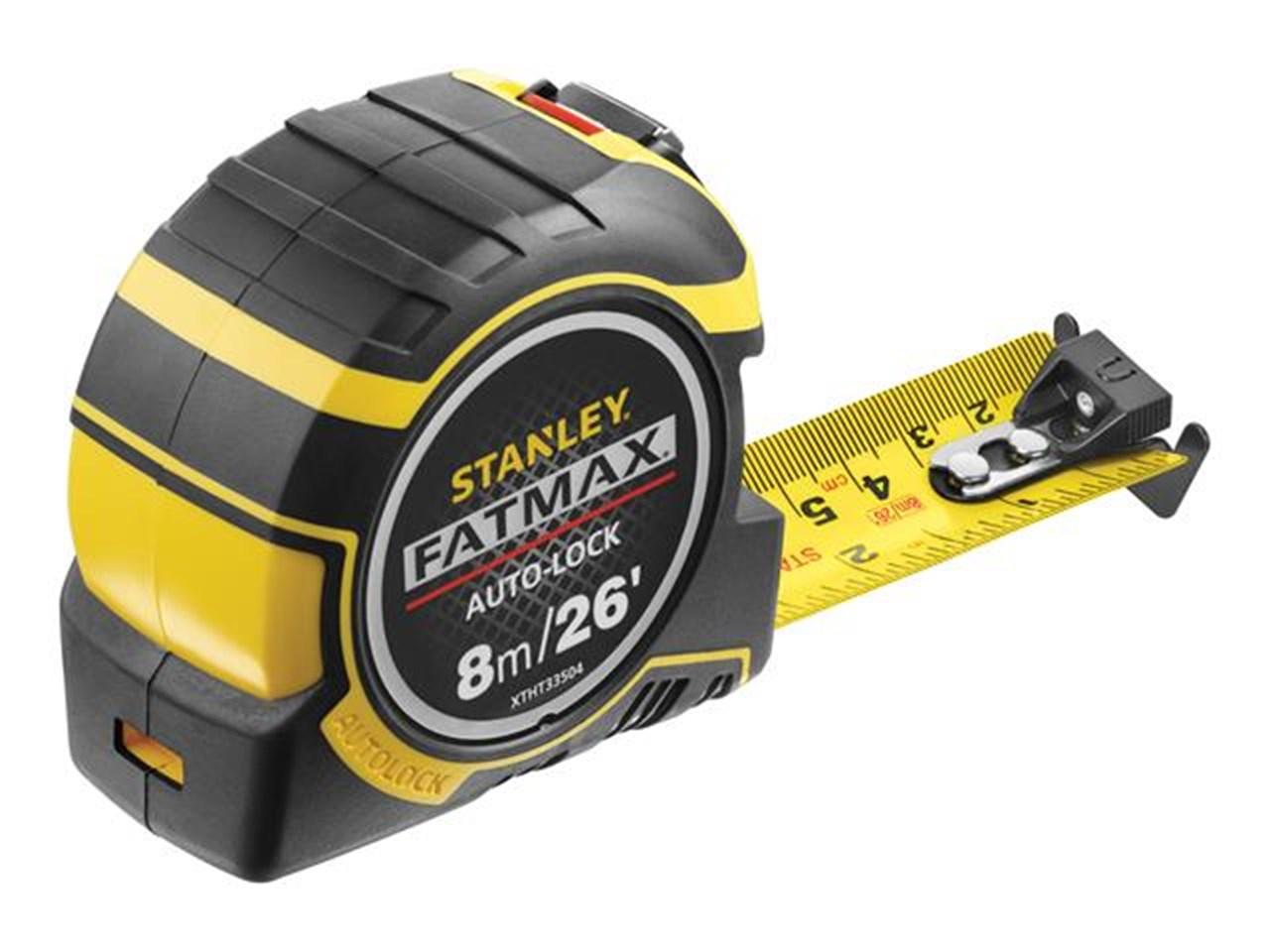 Stanley XTHT0-33504 FatMax Pro Autolock Tape 8m/26ft