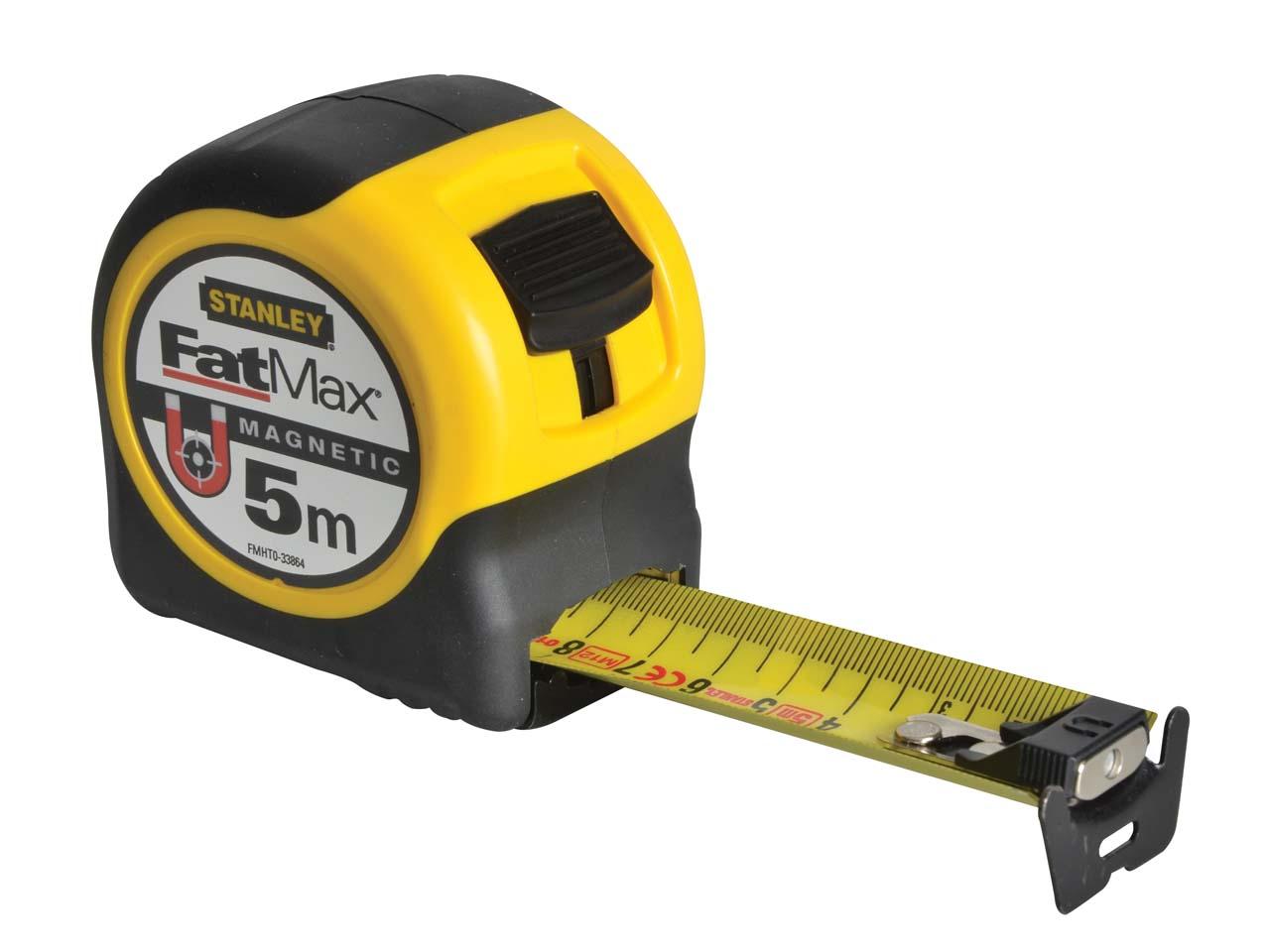 OX P028905 Pro Heavy Duty Tape Measure 5M Metric Only