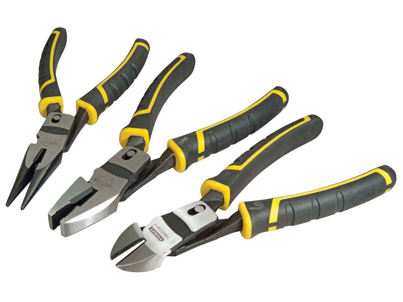 Stanley Fmht0 72415 Fatmax Compound Action Pliers Set Of 3