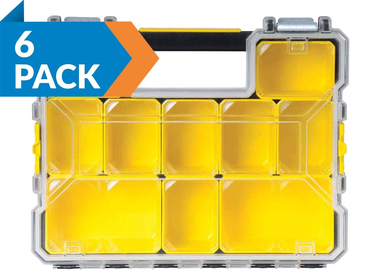 Stanley 197518 Fatmax Deep Pro Organiser Pack Of 6 Ebay