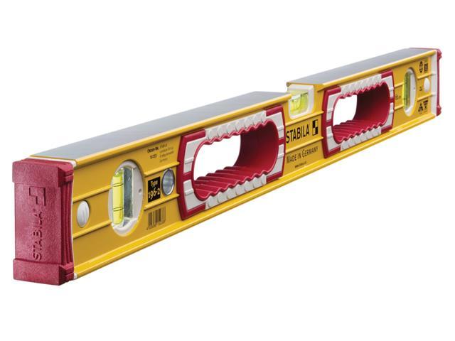 Stabila STB962120 Box Beam Level 3 Vial 120cm//48in