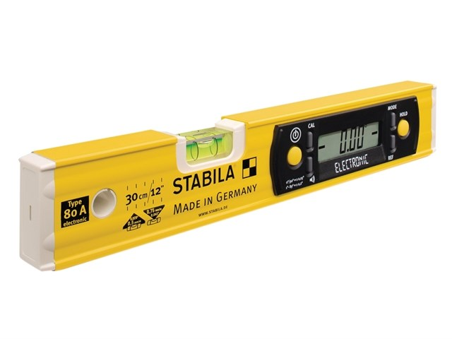 Stabila STB80AE30 80A-E-30cm 300mm 12in Electronic Level 17323 for Spirit Level Instrument  585ifm