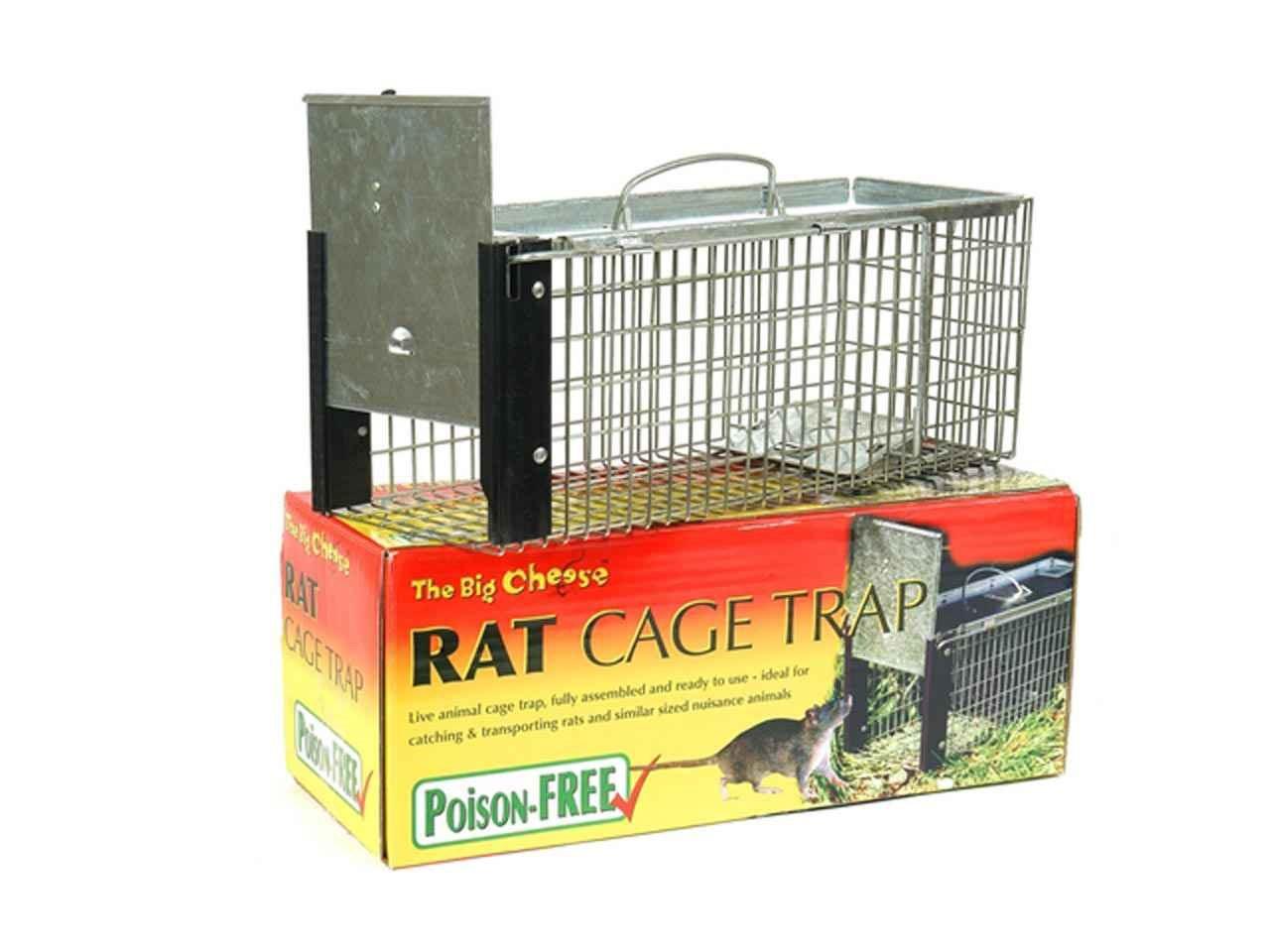 Big Cheese STV075 Rat Cage Trap
