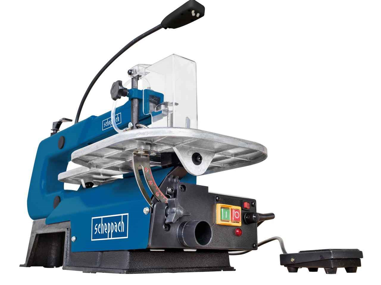 Scheppach DECO-XL 230v 50mm 16in Scroll Saw with Pedal