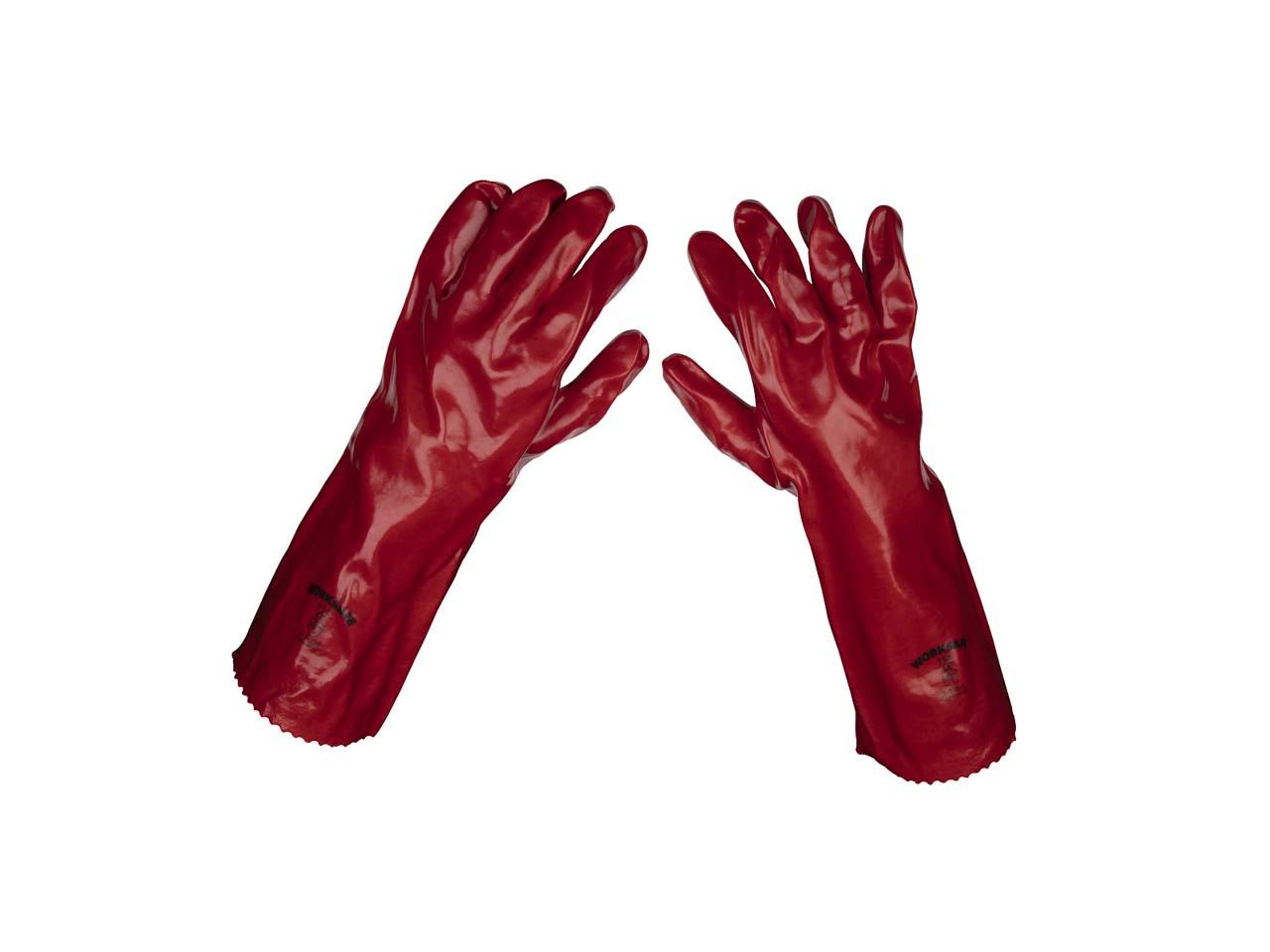 FFX OREGON9L Oregon Size 9 Premium Orange Builders Gloves