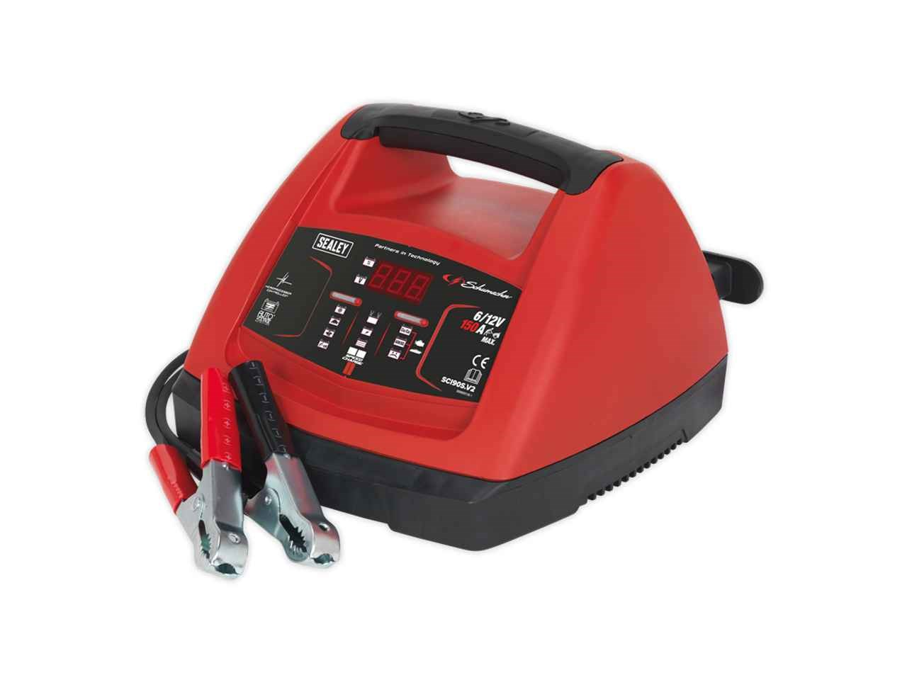 schumacher battery charger wont charge