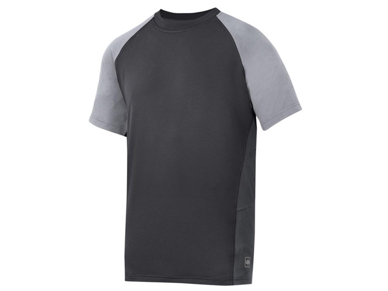 4da967512ca Snickers 25090418006 AVS Advanced T- Shirt Black/Grey Large