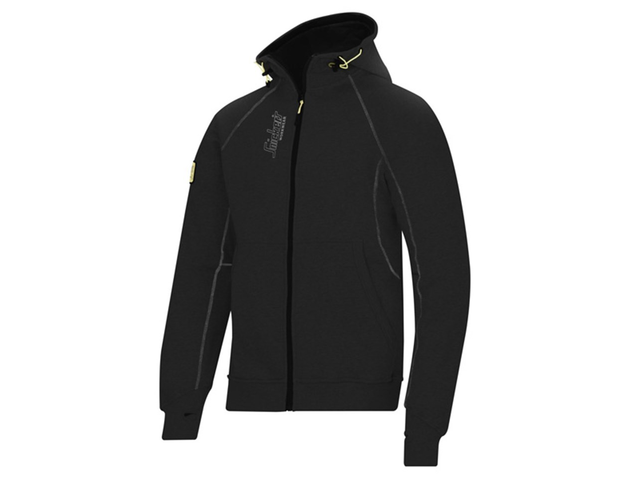 1791ba0c71e Snickers 28160400004 Zipped Logo Hoodie with 2 Front Pockets ...