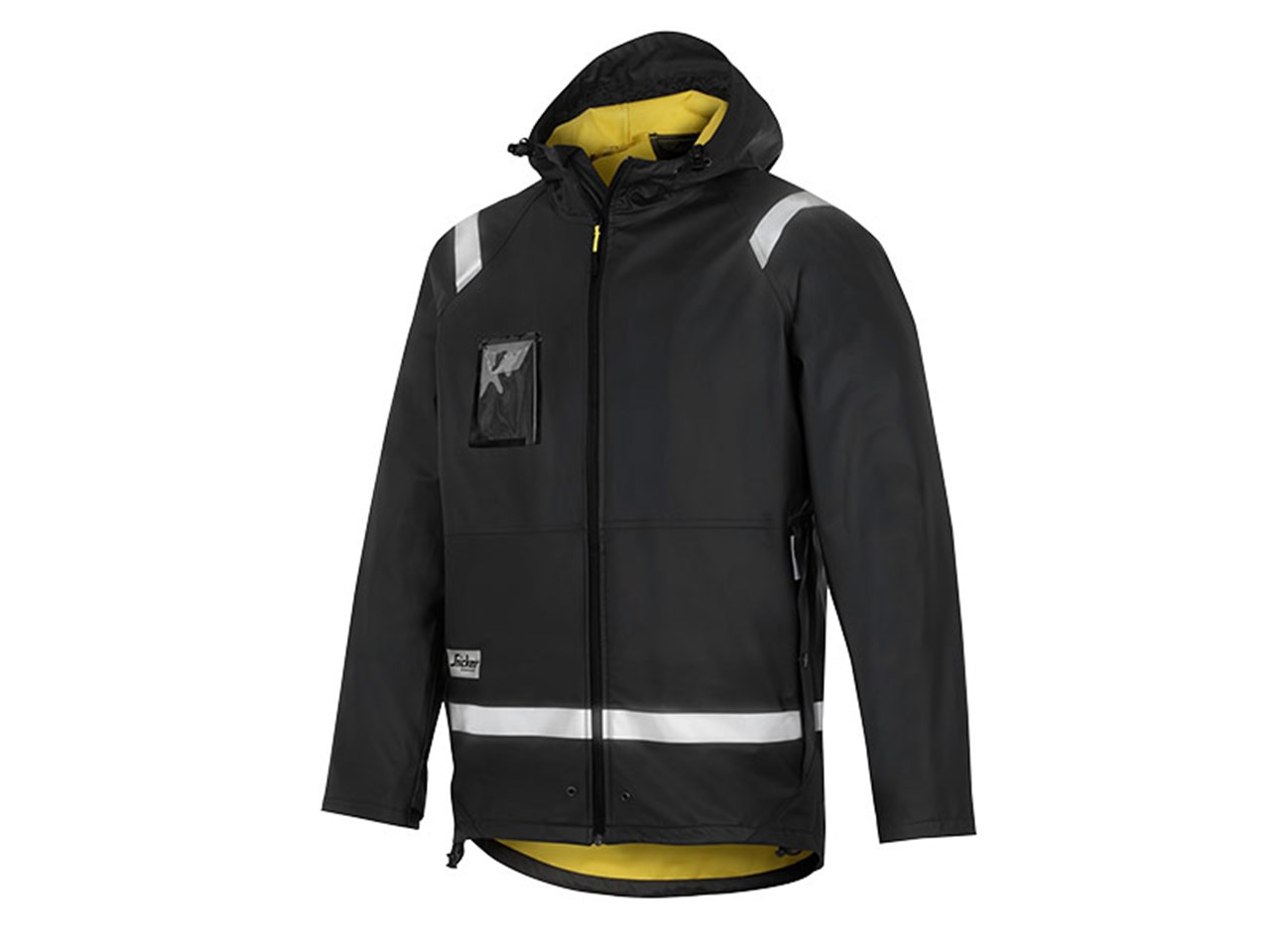 Snickers 82000400009 Rain Jacket Black XXXL