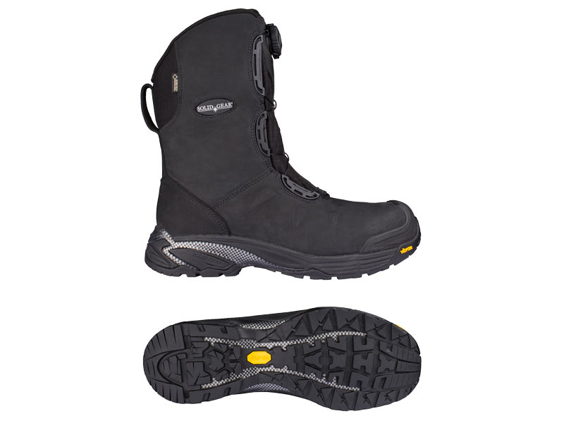 Various Sizes Solid Gear 80005 Polar GTX Black Safety Boot