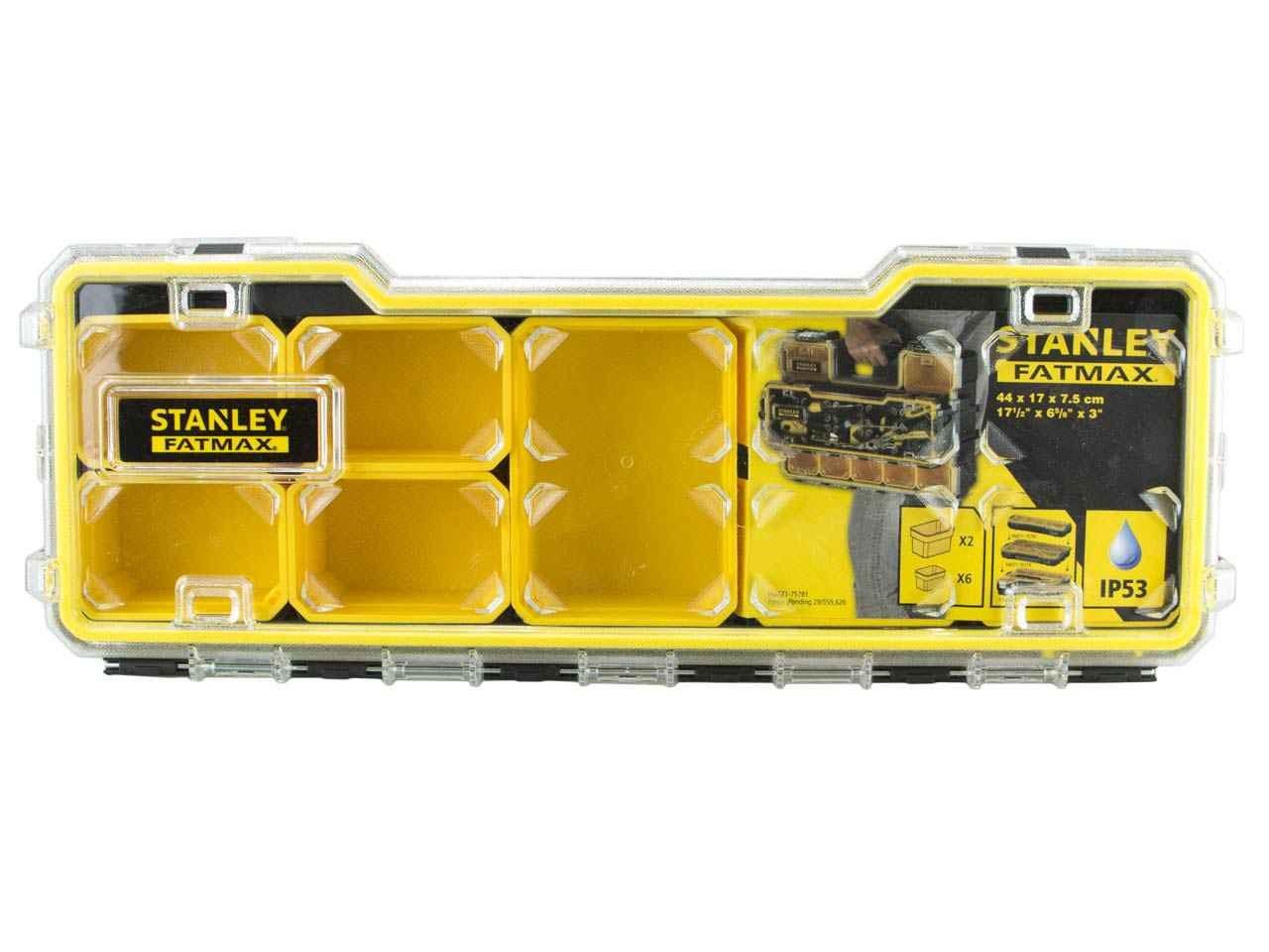 stanley sta175781 fatmax pro 1 3 shallow organiser. Black Bedroom Furniture Sets. Home Design Ideas