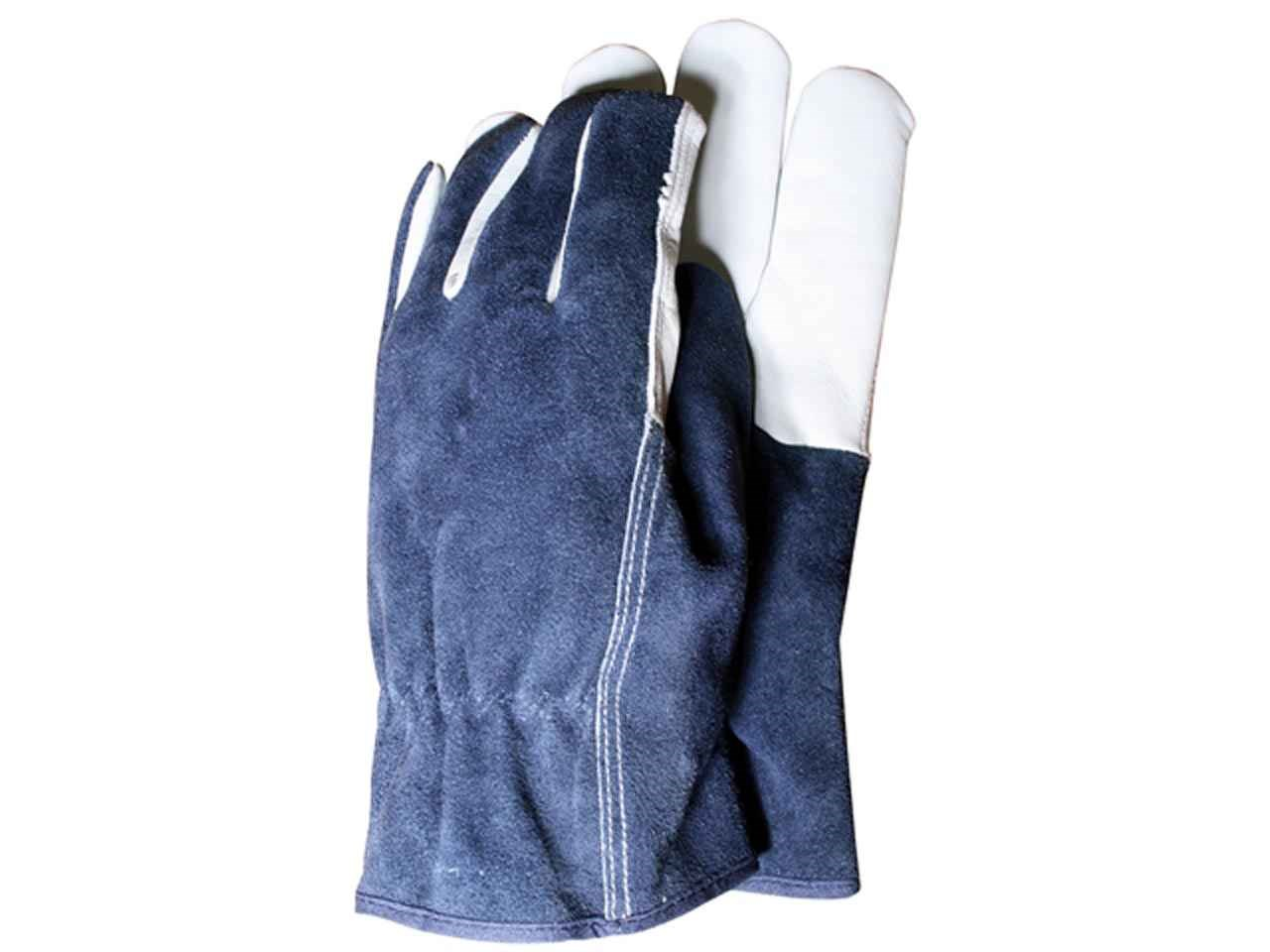 Town And Country T Ctgl418l Premium Leather Suede Mens Gloves Large