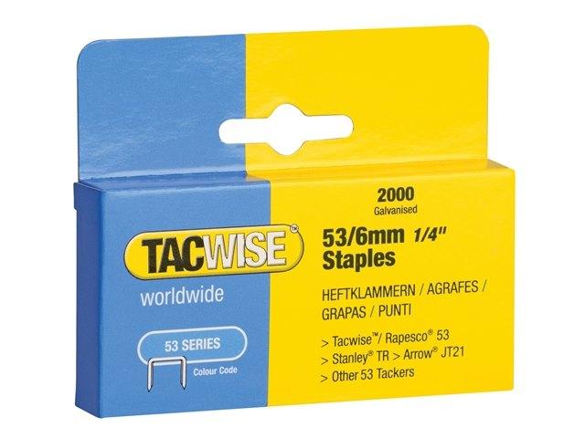 Tacwise 180 18 Gauge Nail Sélection Pack 4000