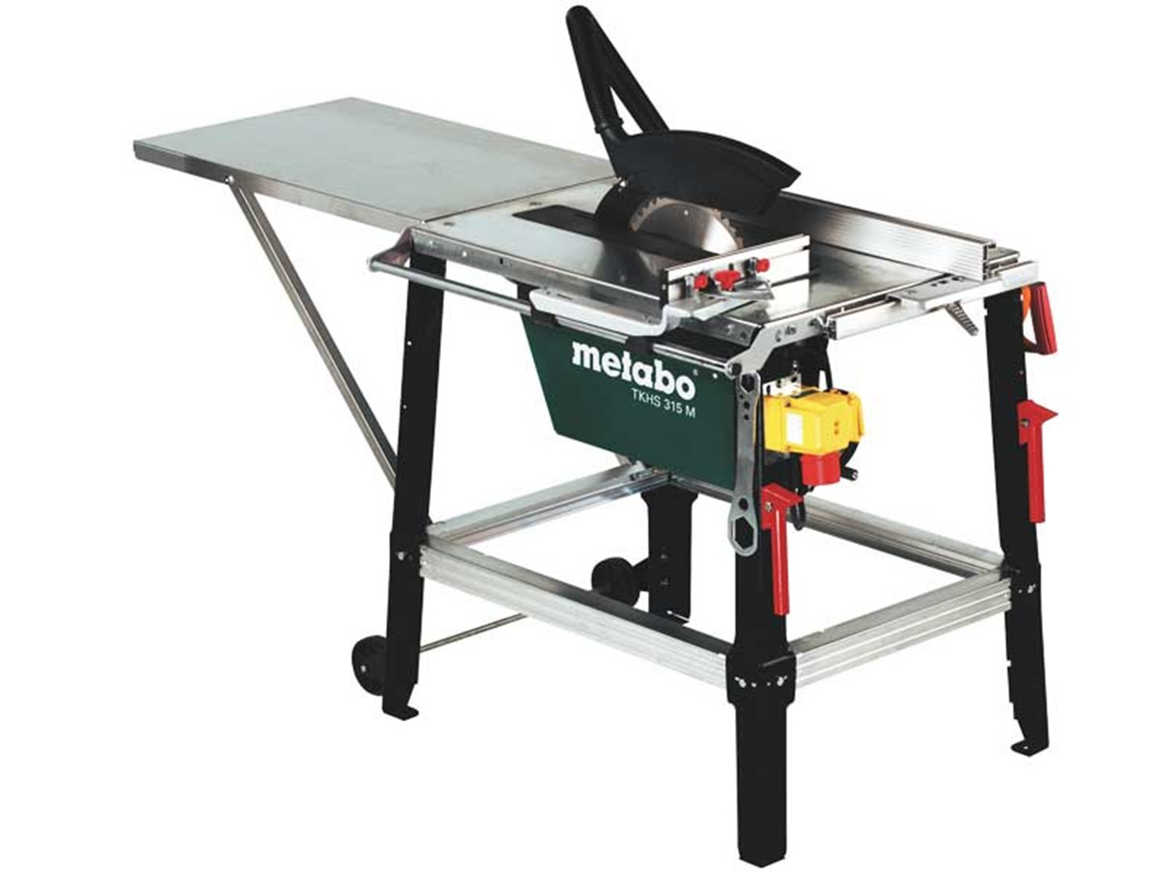 metabo tkhs315m 110v 110v 2500w site table saw with 24t