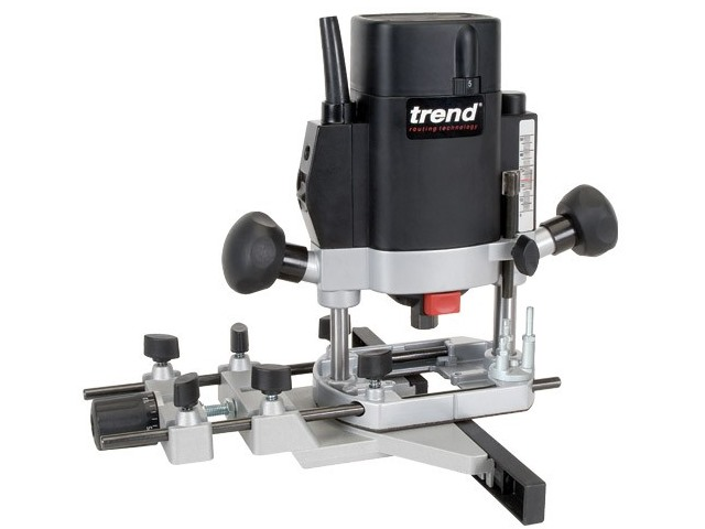 Trend T5EB 240v 1000w 1//4In Variable Speed Router Basic