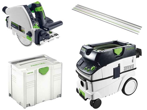 festool ts55ctl26 ts55 kreiss ge mit schiene und ctl26 auszieher 240v ebay. Black Bedroom Furniture Sets. Home Design Ideas