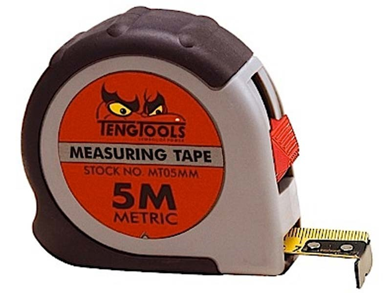 78 On Tape Measure: Teng MT05MM 5m Metric Measuring Tape