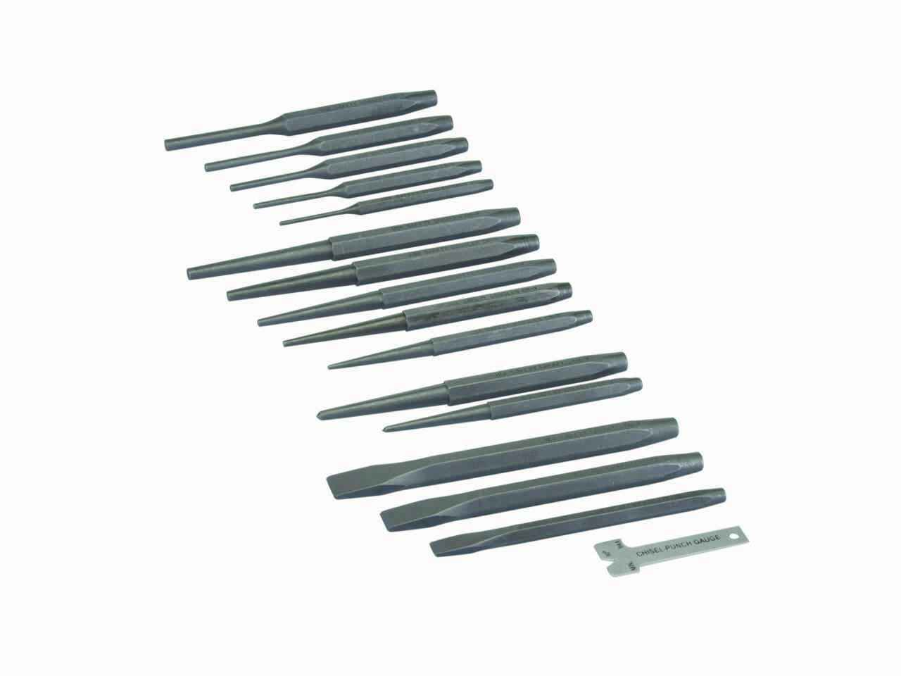Draper CP7NP 7 Piece Chisel and Punch Set