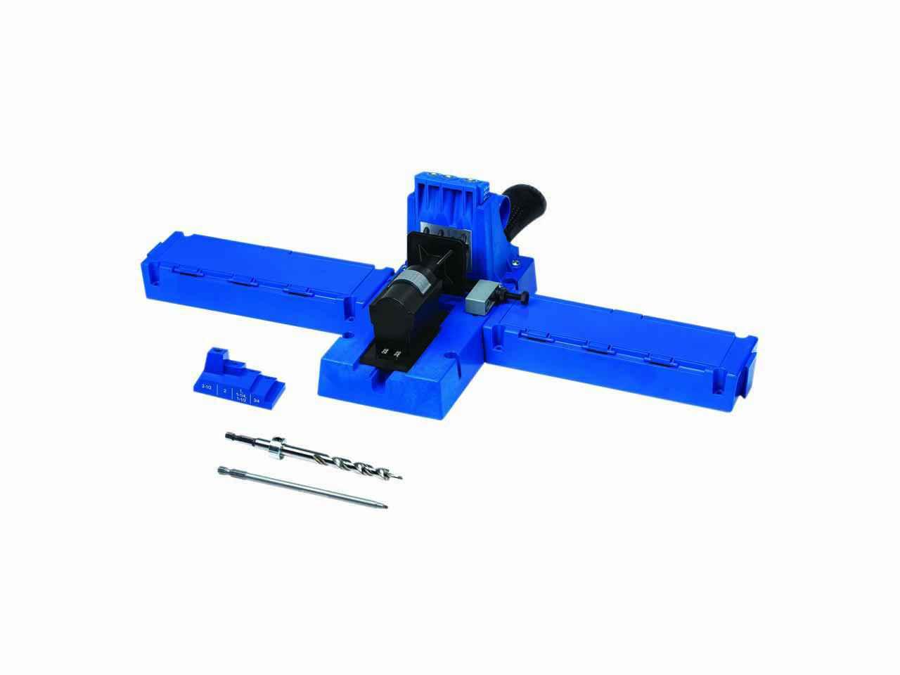 15X Silverline Pocket Hole Vis Jig Dowel Drill Sets OutilsJoint À Visser Clip PS