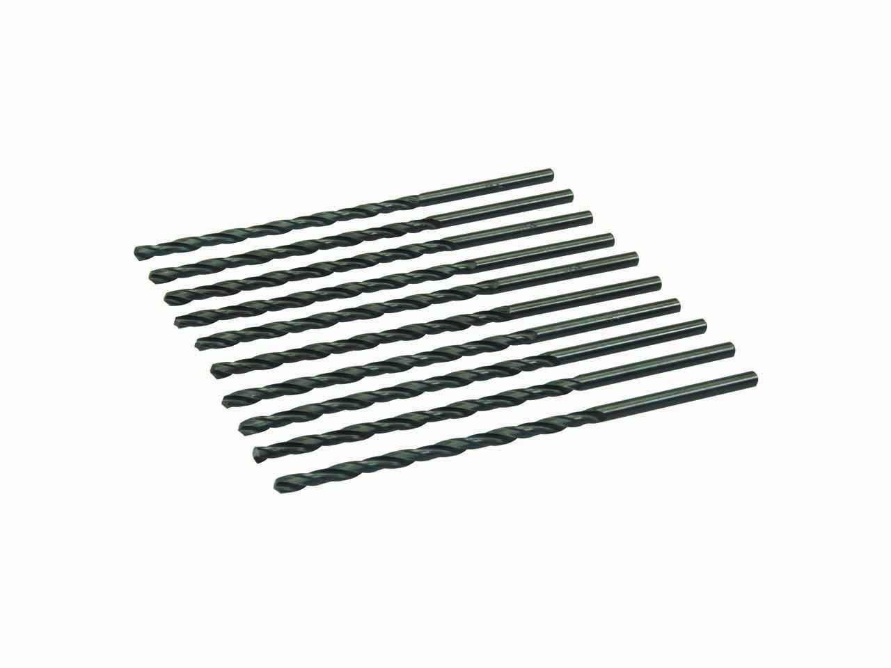 Metric HSS-R Jobber Bits 10pk 2.0mm Drill Drilling Steel Aluminium Plastics Wood