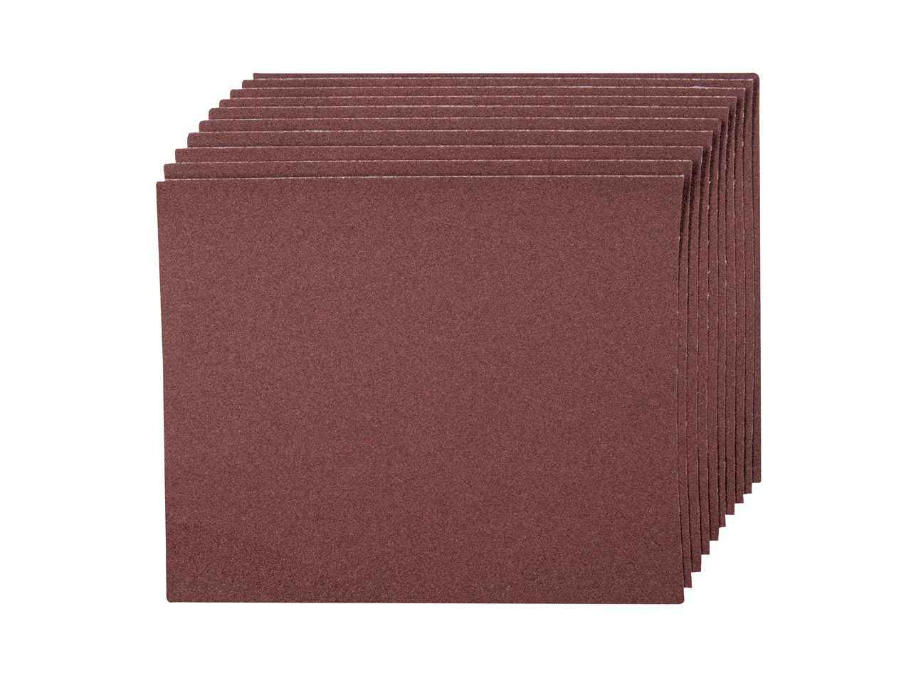 Silverline Emery Cloth Sanding Sheets 230mm x 280mm 120 Grit 30 Pack 371759