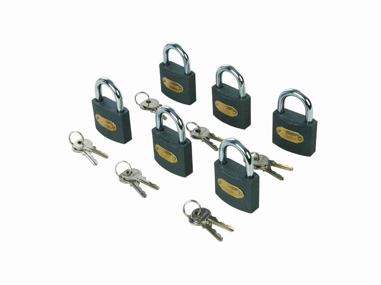 Silverline 802531 Weatherproof Combination Padlock Hand Tools DIY Tools & Workshop Equipment
