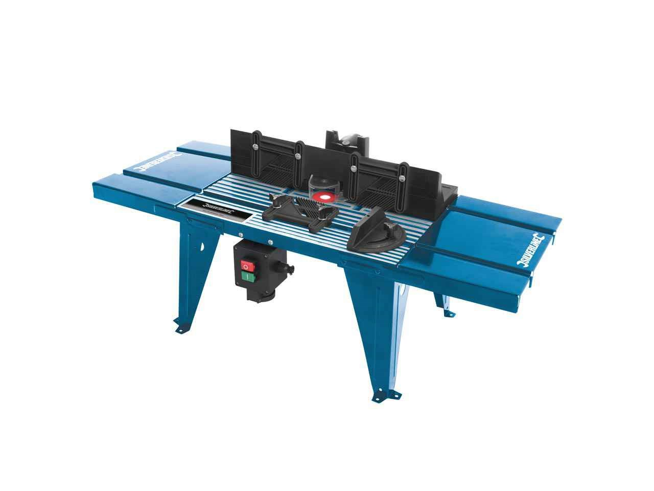 Silverline 460793 diy router table with protractor uk 850 x 335mm greentooth Image collections