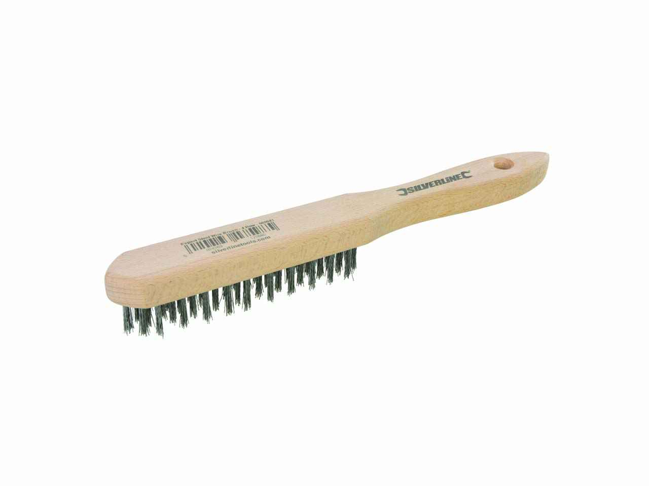 Wire Brush 4 row For removing rust scale and general surface preparation.
