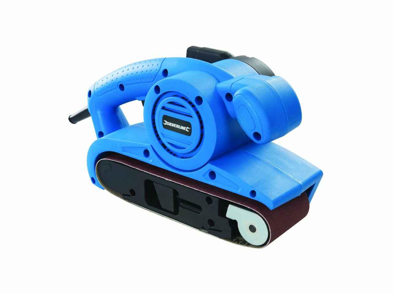 6 bandes de ponçage Silverline Electric Belt Sander ponçage Machine Outil électrique