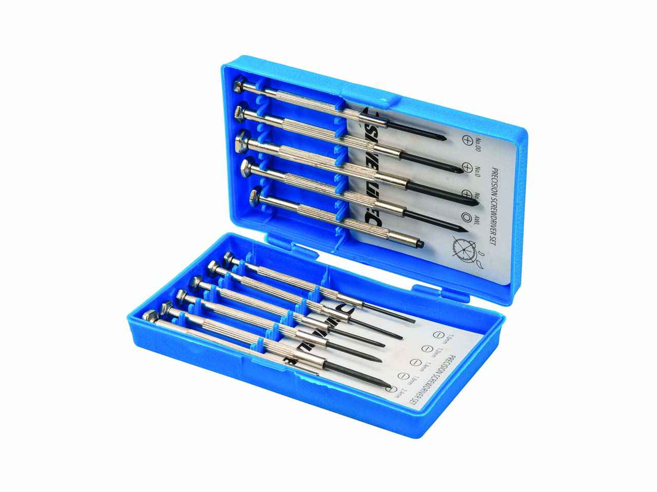 11pce 633602 Silverline Jewellers Screwdriver Set 11pce