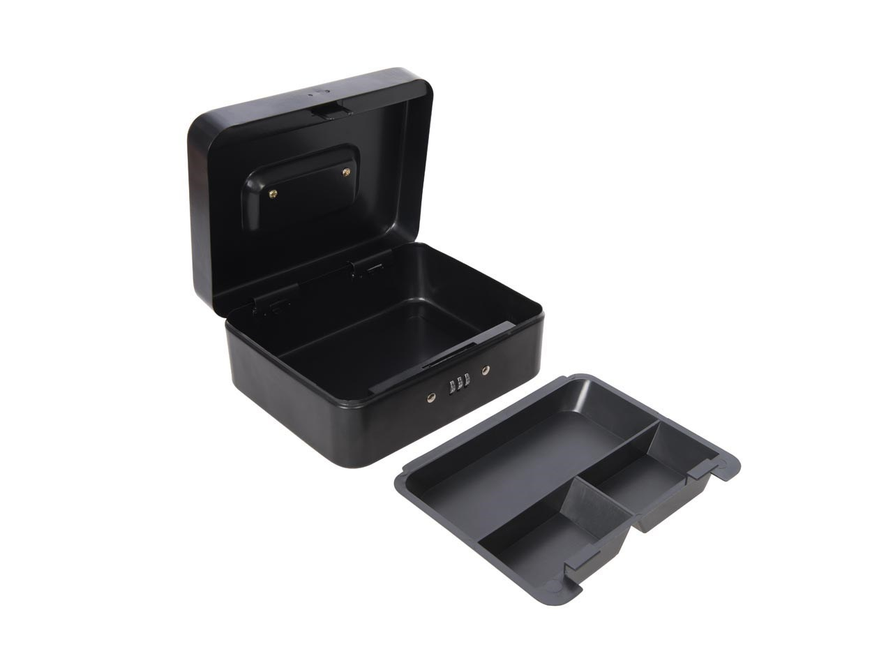 Silverline 732370 3-Digit Combination Cash and Valuables Safe Box