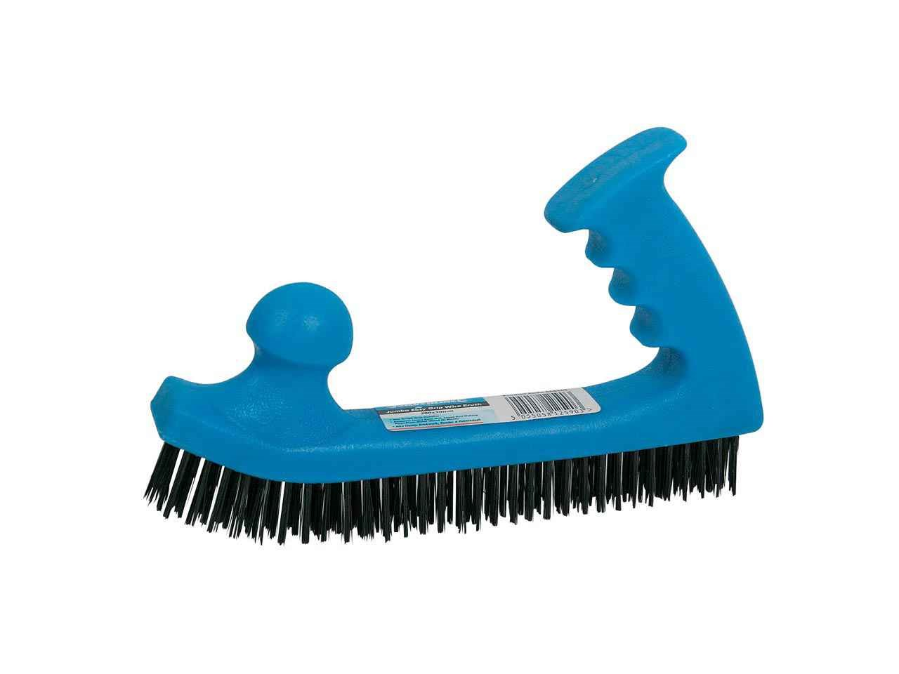 Silverline 868565 Wire Brush Jumbo Easy Grip 200 x 50mm