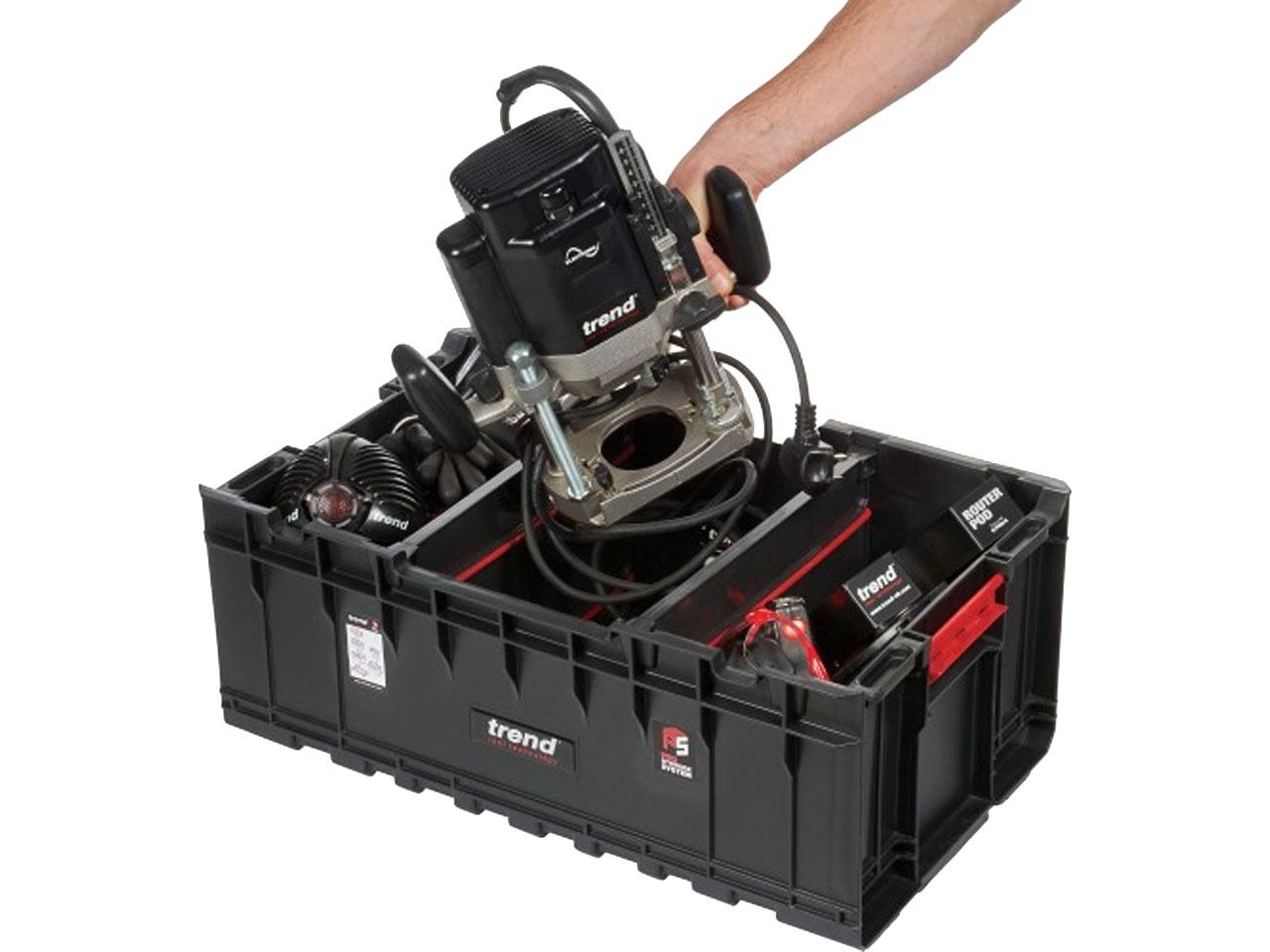 Trend MS//P//200TD Modular Storage Pro Case Toolbox