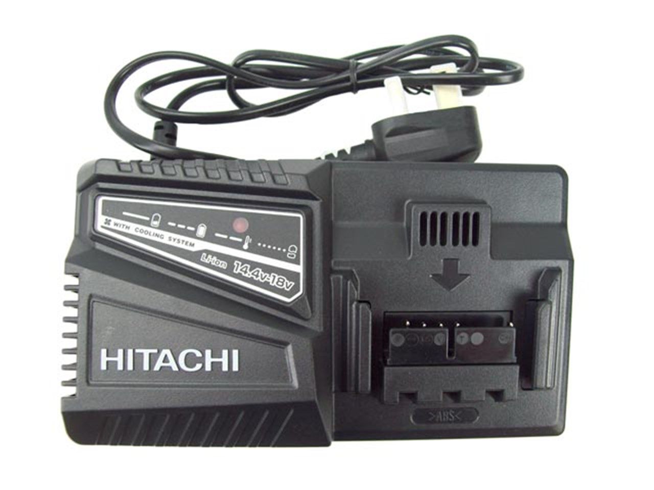 hitachi uc18yfsl 14 4 18v li ion battery charger. Black Bedroom Furniture Sets. Home Design Ideas