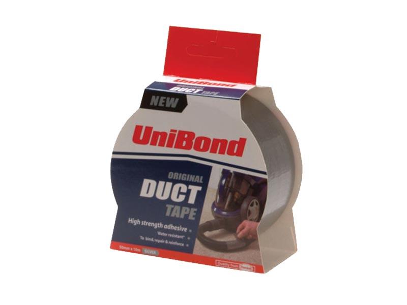 Unibond UNI1418606 Duct Tape Silver 50mm x 25m