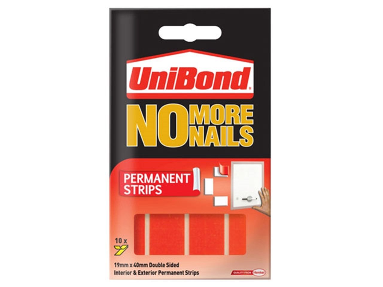 Unibond UNI781740 No More Nails Permanent Pads 781740