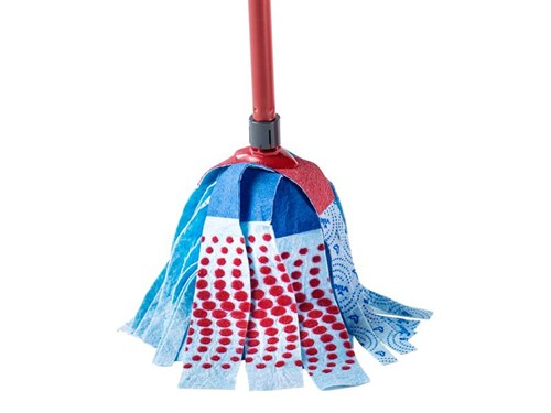 how to clean a vileda mop head