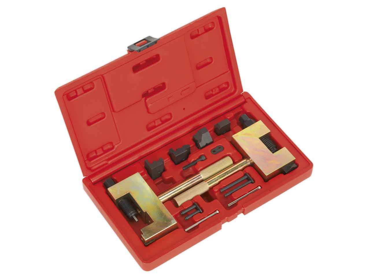 Sealey vse4801 diesel engine timing chain tool kit for Mercedes benz car care kit
